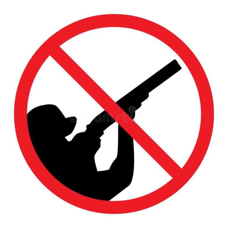 no-hunting-sign-hunter-crossed-out-red-line-35080000